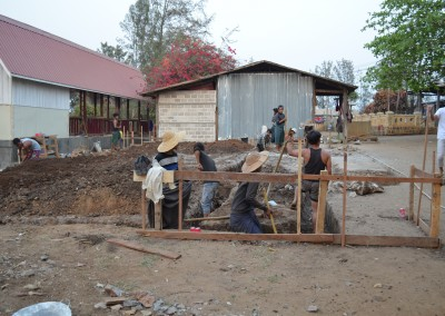 Clinic Building work