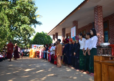 Clinic opening ceremony